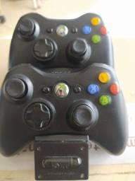 Controles Originais Xbox 360 Microsoft - Com ou sem carregador