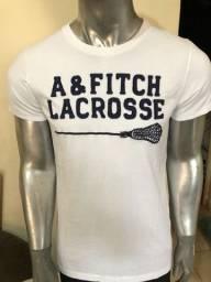 Camisetas Abercrombie Fitch Peruanas Algodao Pima Legitimas Ituiutaba