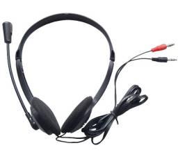 Headset Fone Ouvido Com Microfone Profissional Escritório P2 Escritório