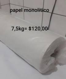 Vendo bobina de papel branca