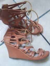 Sapato gladiadora. Importado