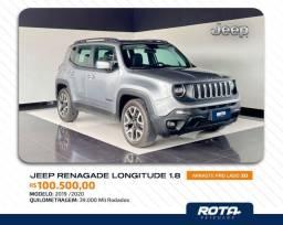 Título do anúncio: Lindo Jeep Renegade 1.8 Flex Longitudo