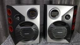 Vendo o par de caixas de som Philips