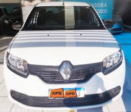 Renault Logan Auth 1.0 => Branco, Final de Placa 3, Flex e Completo (Excelente Estado)