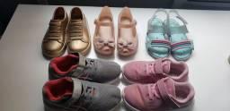 Vendo lote de calçados infantil