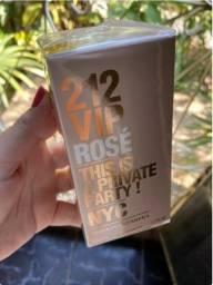 Vendo 212 Vip Rose De Carolina Herrera Eau De Parfum Feminino 50 ml
