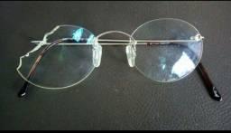 Armação de óculos Davidorff Titanium original