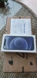 Iphone 12 128 cor preto novo lacrado com nota.