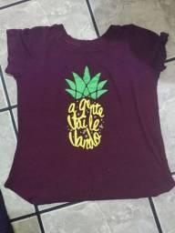 Blusinhas T shirt