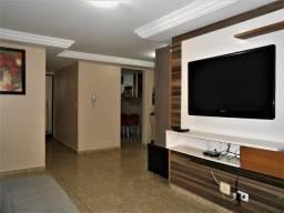 (AP1011)Apartamento mobiliado com 95m², 3 quartos/1suíte, 1 vaga - Jardim Oceania/PB