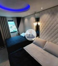 Apartamento com 1 dormitório à venda, 54 m² por R$ 235.000,00 - Vila Guilhermina - Praia G