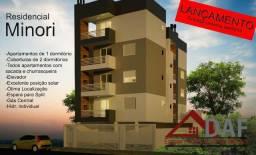 Apartamento 1 dormitório na planta com sacada churrasqueira e elevador 402 investidores