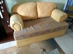Sofá e estante