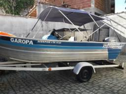 Barco de alumínio scorpion 175 - 2015