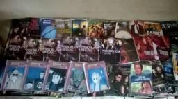 Lote 280 DVD's varios filmes, series, shows, trilogia, infantil