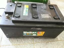 Bateria Heliar 200ah Seminova!