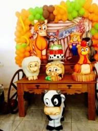 Mesa decorativas para festa infantil