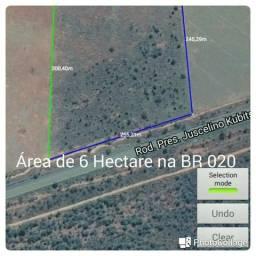 Área as margens da BR 020 c/ 60.000m², em Formosa GO, entre a Syngenta e o Posto Sol