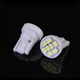 PAR Lâmpada led farolete/ luz interna 8 LEDS