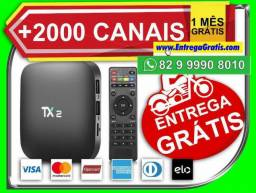 Tvbox Android Tx2 16gb 2gb Ram Bluetooth Androide,Maravilhoso,entrego,gratis