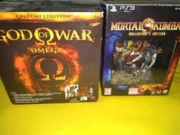 Box God Of War Omega Collection Ps3 Edição Especial