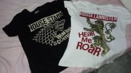 Conjunto Camisas Game of thrones