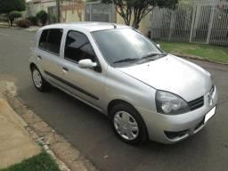Renault Clio 1.0 Campus 16V - Hi-Flex com Ar Condicionado muito bem conservado - 2009 - 2010