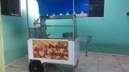 Vendo carrinho de batatas fritas.
