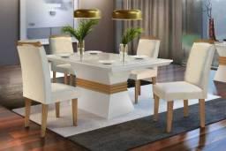 Chame 9  * Mesa de jantar com 4 cadeiras Agatha