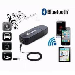 Receptor Bluetooth Para Som Carro Receiver P2 Musica Celular