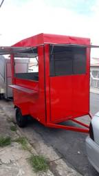 Trailer lanche fabrica food truck