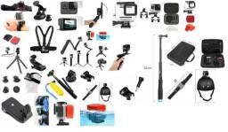 Kit Acessorios Para Gopro Hero 7 6 5 4 3 2 Sportcam Sjcam Go Pro
