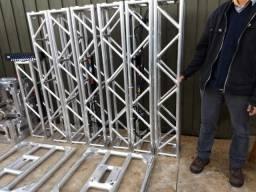 Estrutura Box Truss/Treliça Aluminio Completa