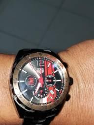 Relógio tag Hauer Airton Senna maravilhoso