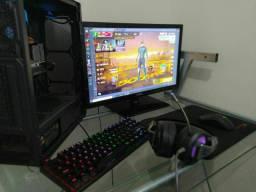 Vendo Pc gamer i5 8400  + ssd 256 gb placa de vídeo GTX 1650 4GB