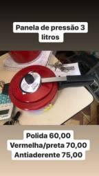 Panela de pressão de 3 a 10 litros