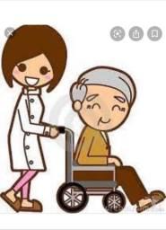 Contrato cuidadora de idosos.