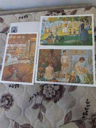 Título do anúncio: Coleção Telas Famosas de Georges Seurat
