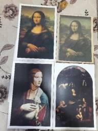 Título do anúncio: Coleção Telas Famosas de Leonardo da Vinci