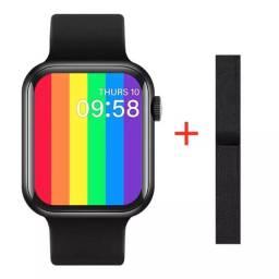 Smartwatch Iwo 12 com Pulseira extra - 44mm - Novo