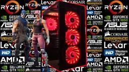 PC Gamer NOVO c/ AMD Ryzen 5 1600 AF + GTX 1650 4GB