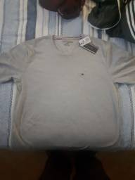Camiseta basica malha peruana