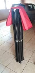 Tenda Gazebo 3x3 articulado em aço