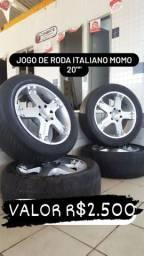 """JOGO DE RODA ITALIANO MOMO R20"""""""