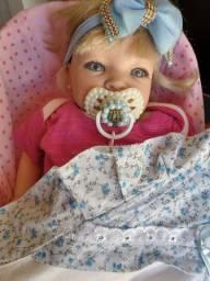 Bebê Reborn encantadora.