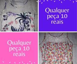 Qualquer vestido a 10 reais cada