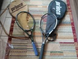 Raquetes de tênis nunca usadas