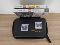 Acessórios + jogos Nintendo 3DS