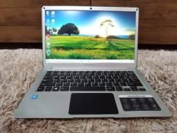 """Notebook Dual Core / Mem. 4Gb / SSD 32Gb / Tela 13.3"""" (aceito cartão)"""