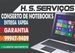 Manutenção em Notebook e computadores.